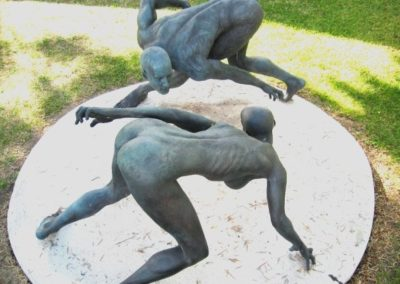 Eternal dance - located at Santa Monica College